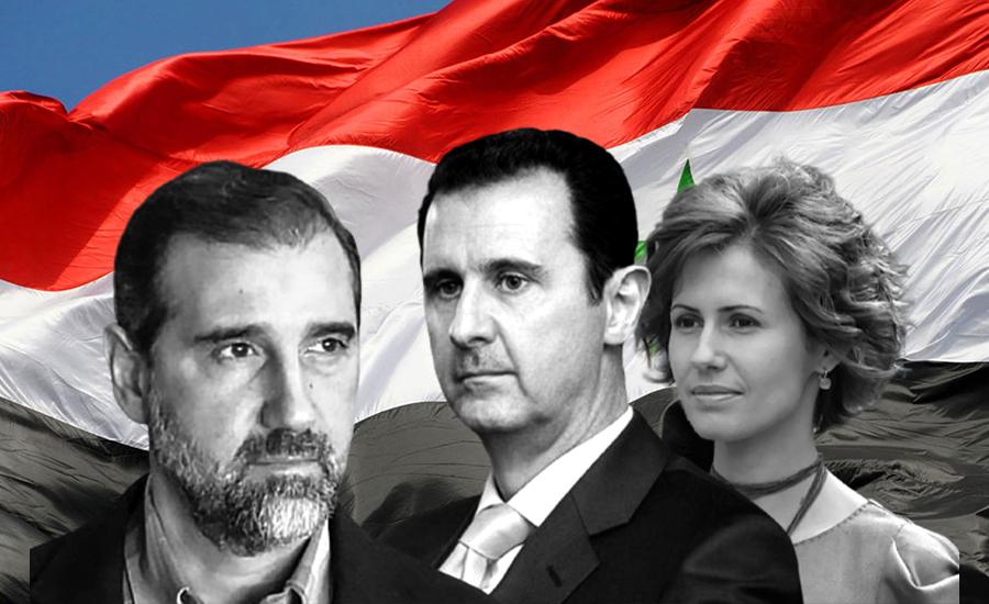 نزاع غير مسبوق ينفجر داخل الأسرة السورية الحاكمة