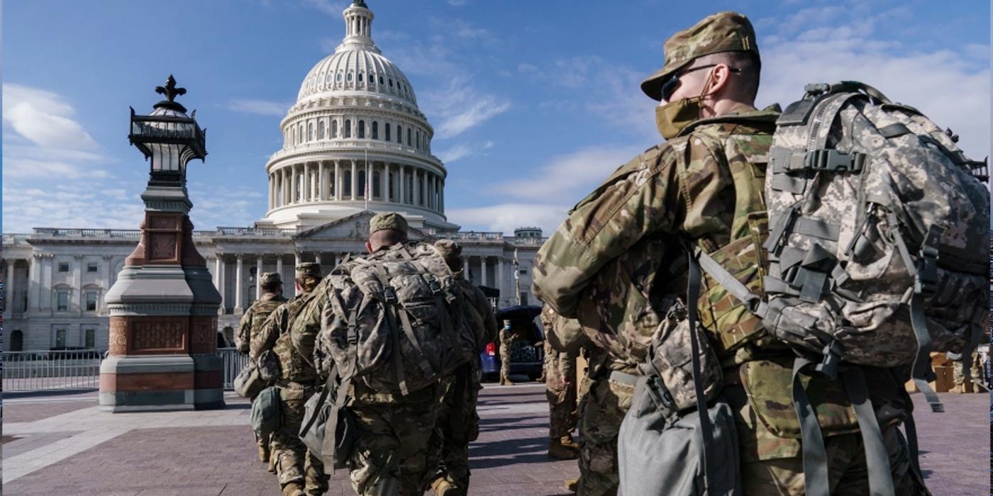 نشر 25 ألف جندي لحماية حفل تنصيب بايدن