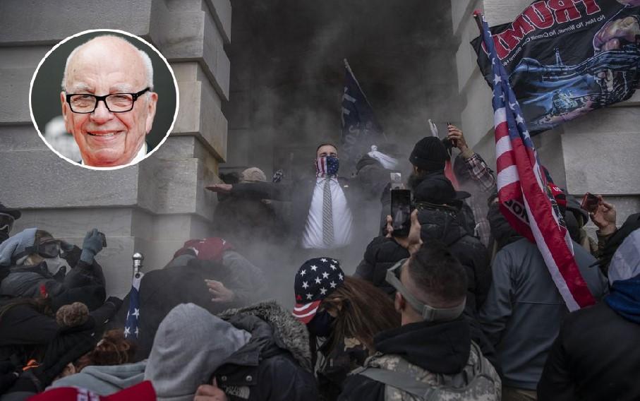 ما هي علاقة روبرت مردوخ بأحداث اقتحام الكونغرس؟