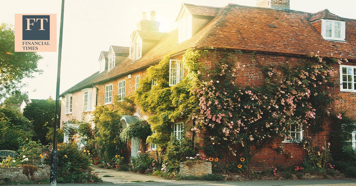 تباطؤ نمو أسعار المنازل في المملكة المتحدة في مارس